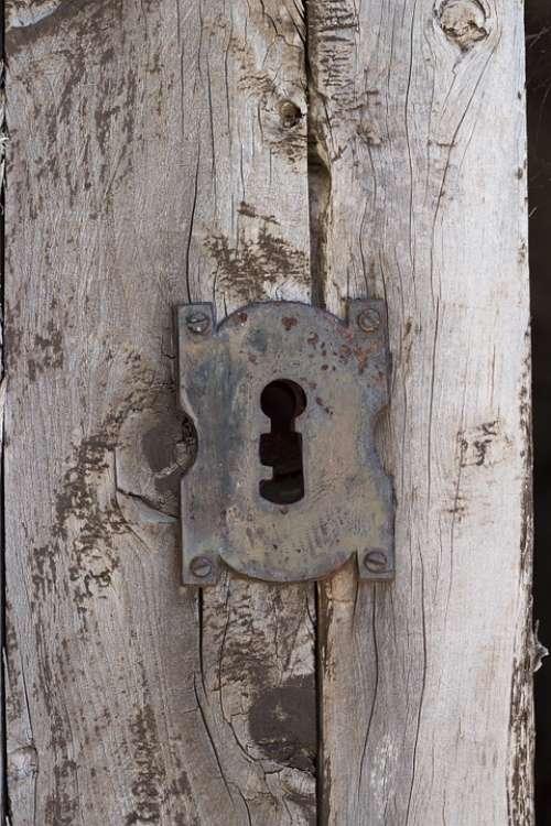Lock Wood Door Wooden Entrance