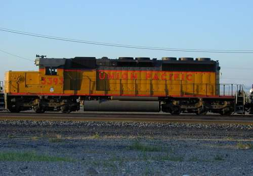 Loco Locomotive Union Pacific Usa