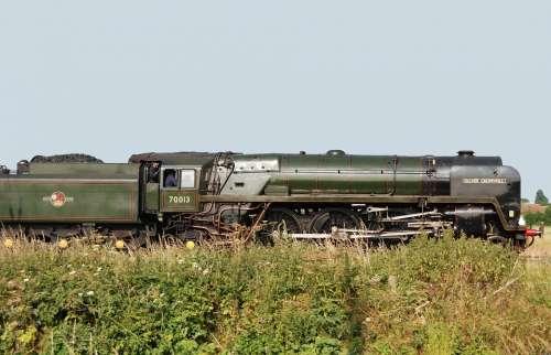 Locomotive Train Railway Steam Railroad