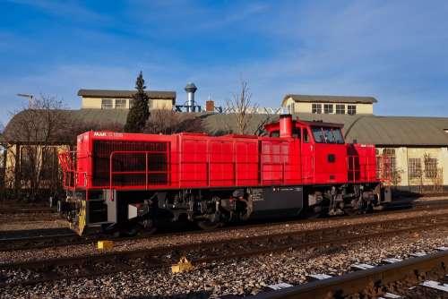 Locomotive Loco Railway Train Transport Nostalgia