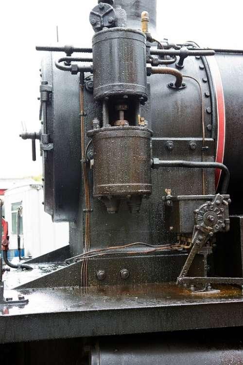 Locomotive Steam Railway Heritage Detail Pump
