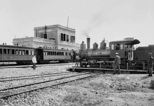 Locomotive Steam Locomotive Railway Station Railway
