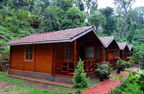 Log Huts Wood Cabin Homestay Coffee Estate