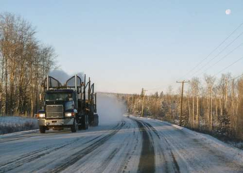 Logging Truck Transportation Technical
