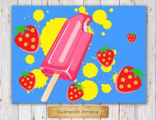Lollipop Popsicle Ice Cream Sweet Ice Summertime