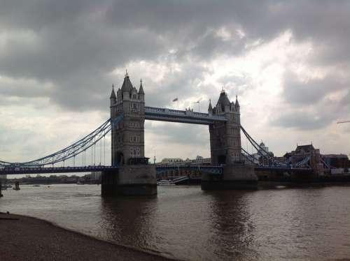 London Tower Bridge Bridge United Kingdom