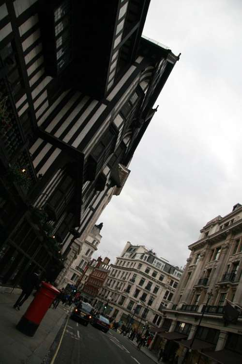 London Urban Street Buildings Architecture