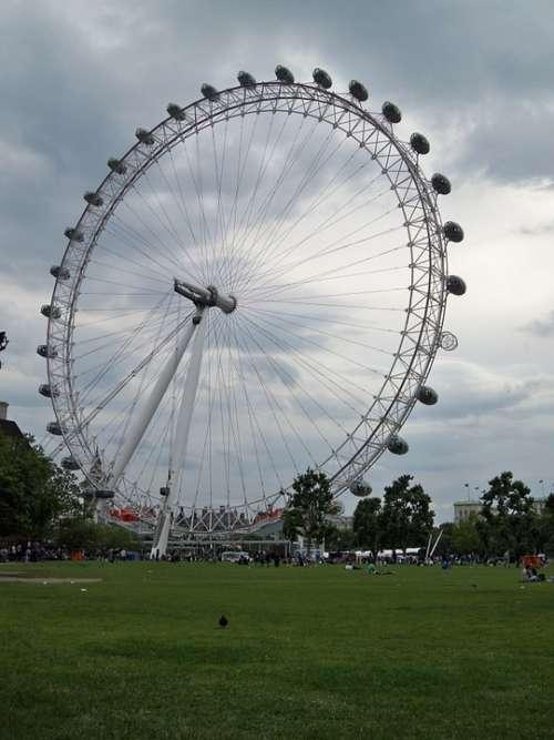 London London Eye Ferris Wheel