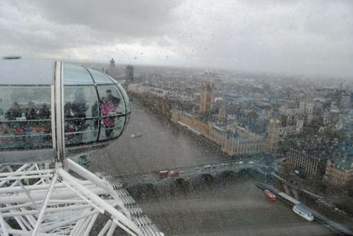 London England The London Eye The Capsule View