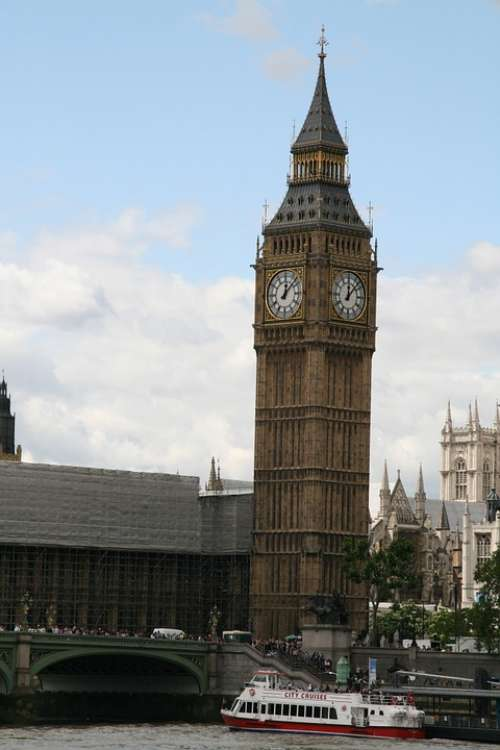 London Big Ben Clock England
