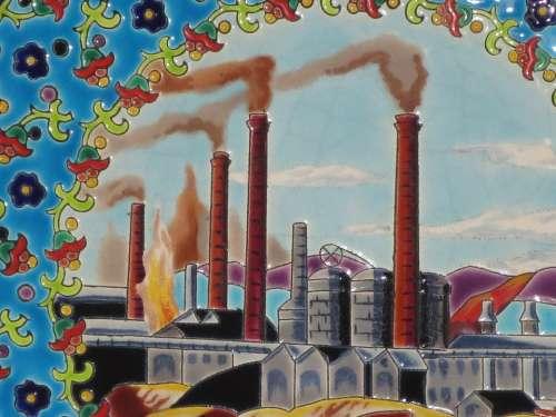 Longwy Factory Blast Furnaces Industrial Heritage
