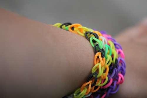Loom Arm Bracelet Hand Wrist Jewellery Colorful