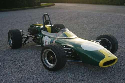 Lotus Racing Car Car Racing Speed Power Motor