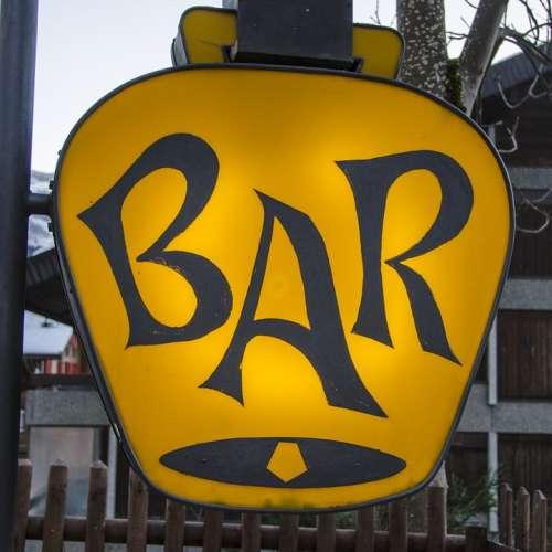 Lounge Club Sign Bar Drink Cocktail Beverage