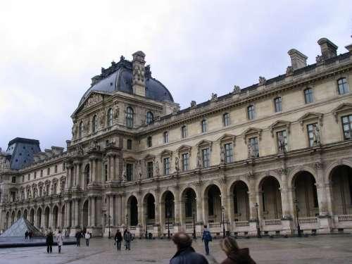 Louvre Paris France Building Museum Architecture