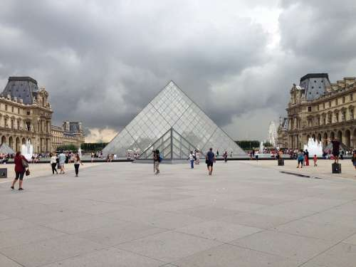 Louvre France Paris Architecture Museum Tourism