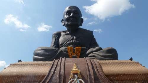 Luang Po Tuad Buddha Buddhism Asia Meditate
