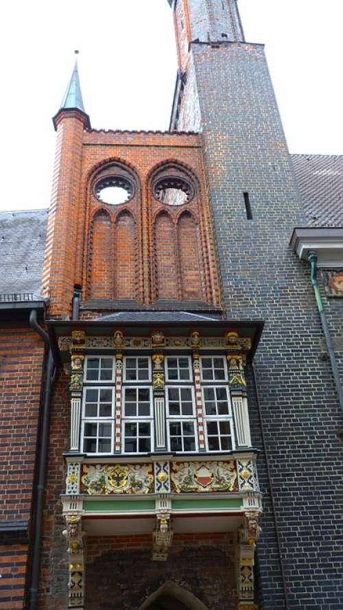 Lübeck Hanseatic League Historically Building