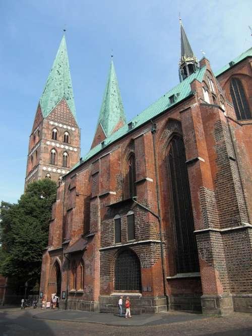 Lübeck Dom Hanseatic League Hanseatic City Church