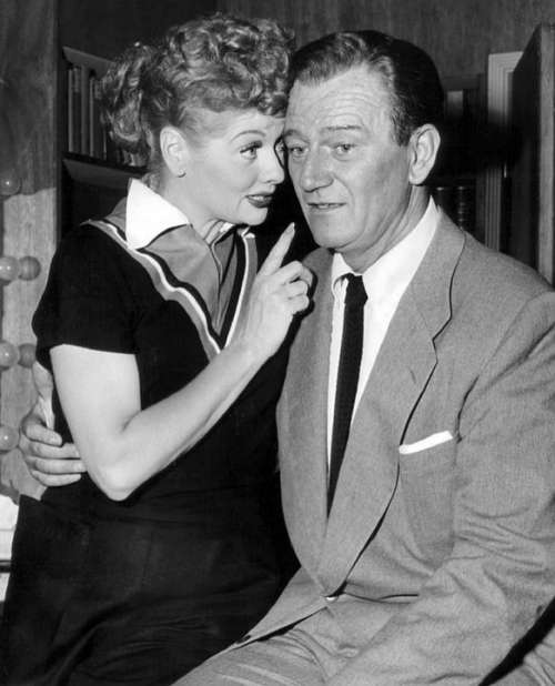 Lucille Ball John Wayne Actress Actor Film Cinema