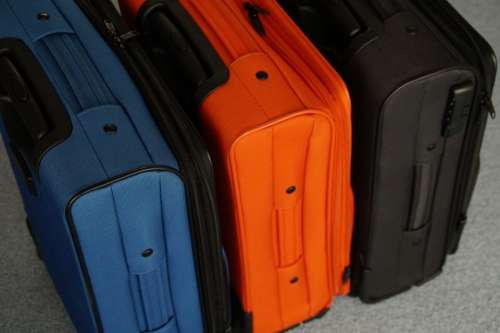 Luggage Go Away Packaging Vacations Travel