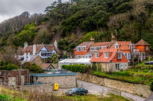 Lulworth Cove Village Architecture Traditional