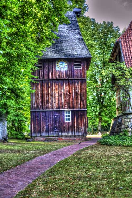 Lüneburg Heath Egestorf Heathland Heidenfest House