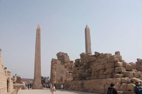 Luxor Egypt Famous Temple Complex Temple