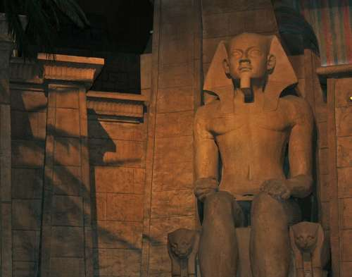 Luxor Las Vegas Pharaonic Luxor Egypt Habu Temple