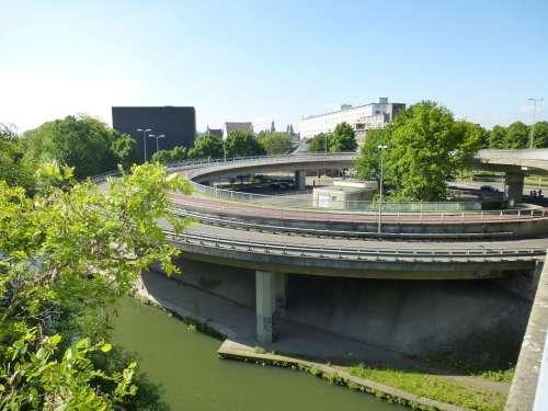 Maastricht Noorderbrug Driveway Exit Bridge