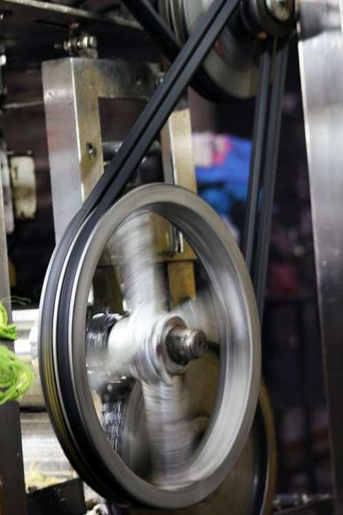 Machine Wheel Turning Technology Machinery