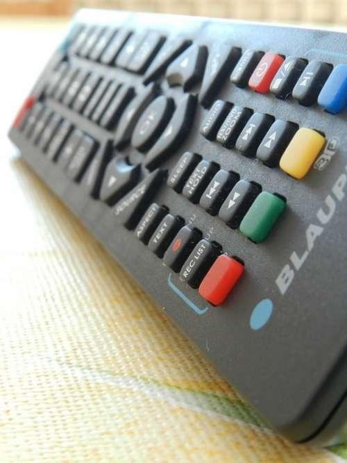 Macro Remote Control Black