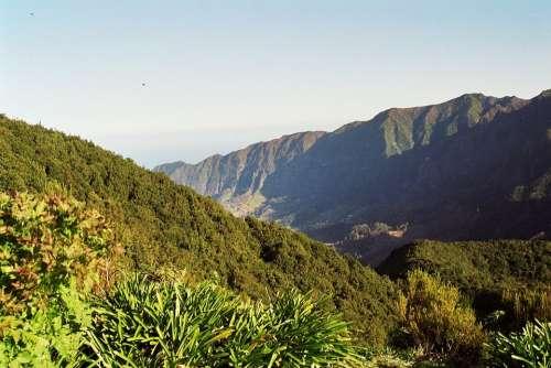 Madeira Highlands Mountains Summit Levada Hiking