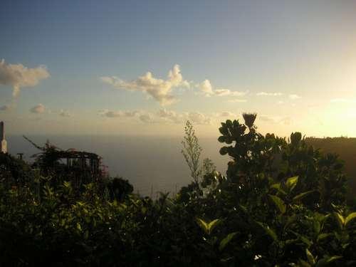 Madeira Sunrise Ocean Sea