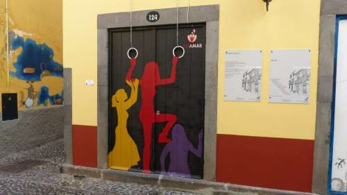 Madeira Funchal Doors