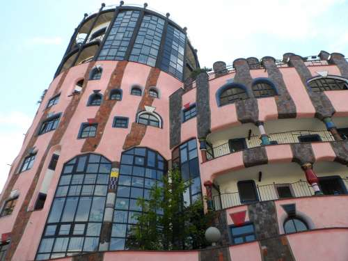 Magdeburg Germany Architecture Modern Building