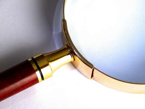 Magnifying Glass Magnification Larger View Focus