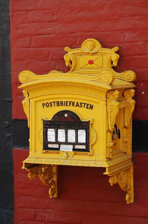 Mailbox Post Letter Boxes Blacksmithing Post Horn
