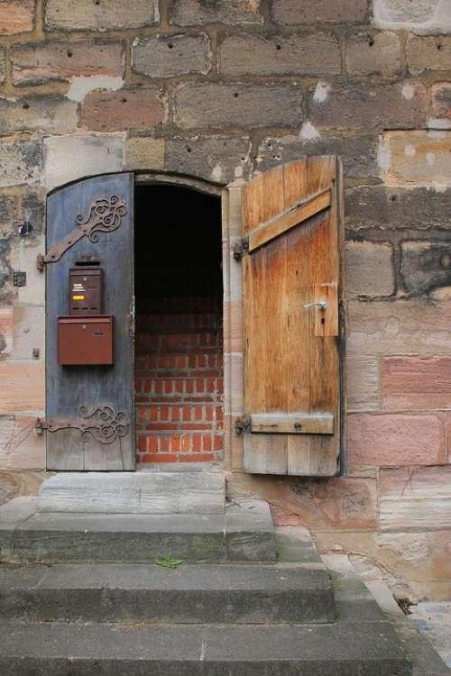 Mailbox Door Goal Input Portal Tower