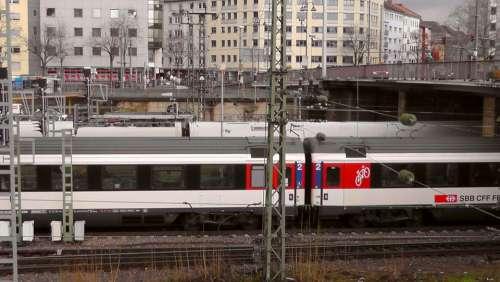 Mainz Central Station Wagon Train Station