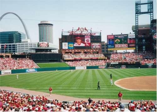 Major League Baseball Baseball Stadium Game Park