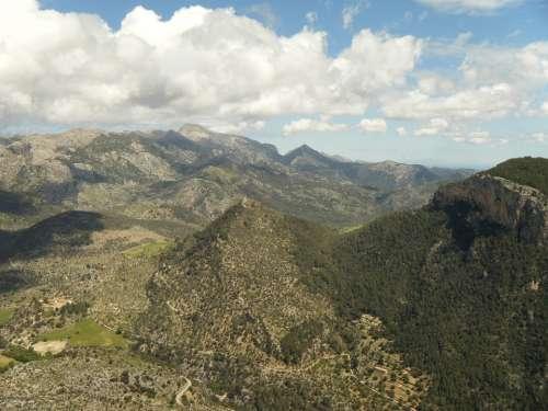 Majorca Hill Mountain Tree Forest Mountains
