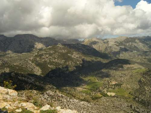 Majorca Hill Mountain Tree Forest Mountains