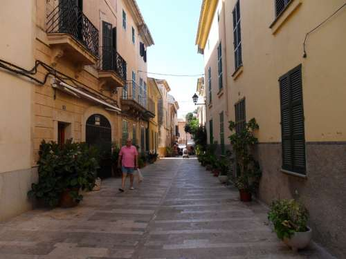 Mallorca Alcudia Historic Center