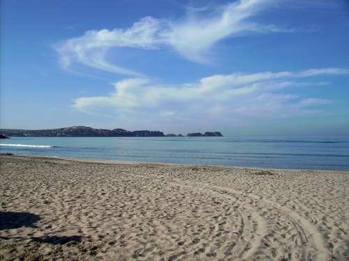 Mallorca Sea Beach Rock Cliffs Landscape Island