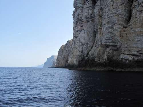 Mallorca Sea Rocks Landscape Cala
