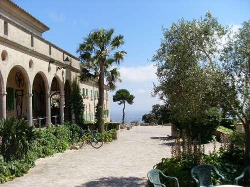 Mallorca Monastery Randa Mountain Rest Meditation