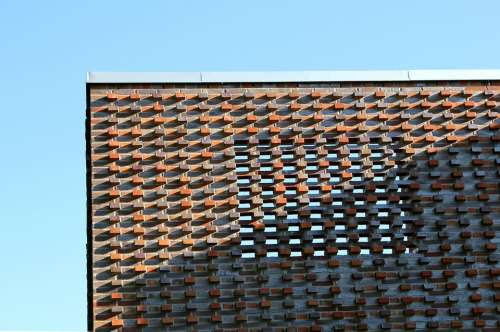 Malmö Brick Pattern Building