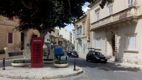 Malta Phone Box Phone Booth British