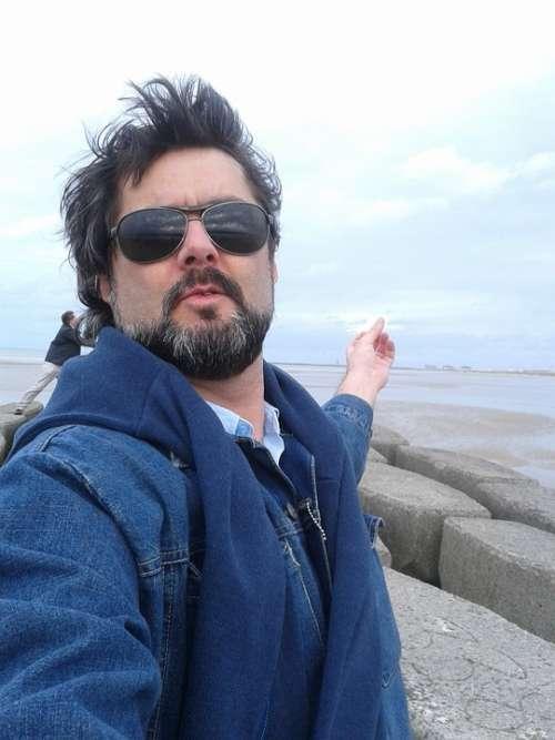 Man Sunglasses Beard